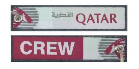 Qatar Crew kulcstartó