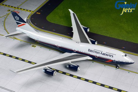 "British Airways B747-400 G-BNLY Landor ""100 years"" 1:200 Gemini Jets"