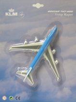 KLM B747 3D hűtőmágnes
