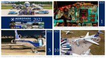 2021 Aeropark naptár