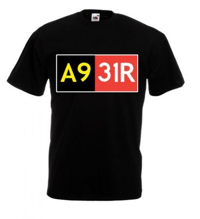 Reptér-kollekció: A9-31R póló
