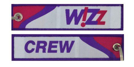 Wizz Crew kulcstartó