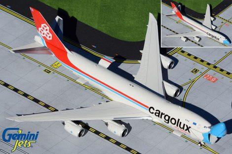 Cargolux Boeing 747 Mask livery nyitható orral (1:400)