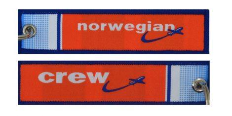Norwegian Crew kulcstartó
