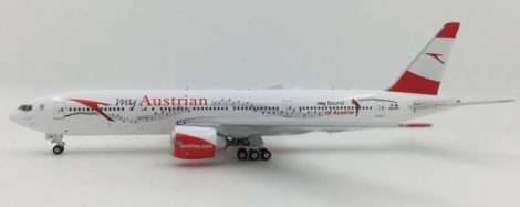"Austrian B777-200ER OE-LPD """"My Sound of Austria"" 1:400 Phoenix"