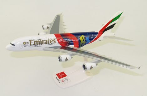 """Emirates A380 A6-EOH """"ICC Cricket World Cup England & Wales 2019"""" 1:250 PPC"""
