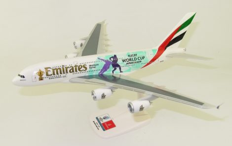 """Emirates A380 A6-EEU """"Rugby World Cup"""" 1:250 PPC"""