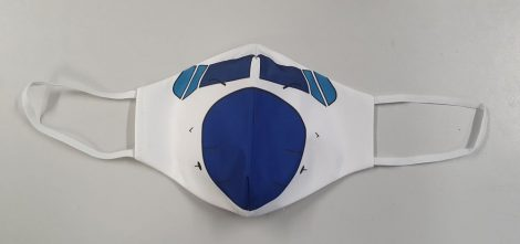 Malév kékorrú maszk (B737)