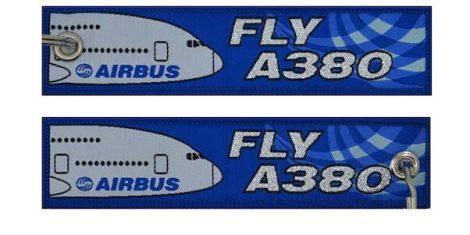 Fly A380 kulcstartó