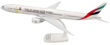 """Emirates Boeing 777-300ER A6-EPP """"Year of Zayed"""" 1:200 PPC"""