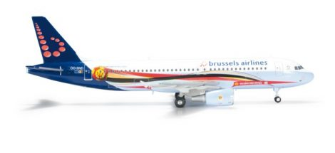 "Brussels Airlines A320 OO-SND ""Red Devils"""