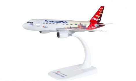 "CSA A319 ""Prague City of Magic"" OK-NEP 1:200 Herpa"