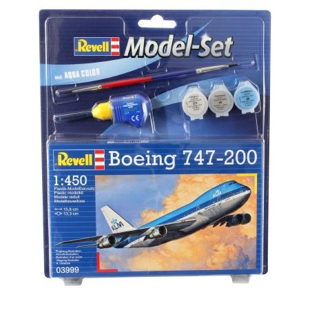 BOEING 747-200 (REVELL MODEL SET) 1:450