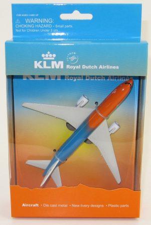 "KLM Boeing 777 ""Orange Pride"" fém modell playsethez"