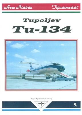 Tu-134 típusfüzet