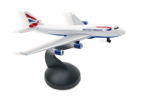 British Airways B747 fém modell playsethez