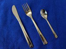 Eredeti Malév étkészlet (kés-villa-kiskanál) 6db-os