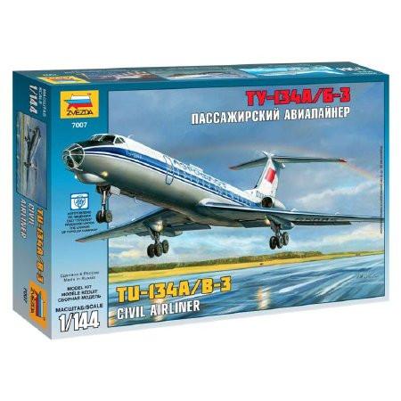 Zvezda Tupolev Tu-134B 1/144