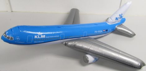 KLM óriás gumirepcsi (1 méter fesztáv)