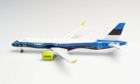 "Air Baltic A220 YL-CSJ ""Estonia"" 1:200 Herpa"
