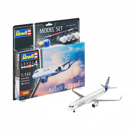 REVELL MODELL SZETT AIRBUS A321 NEO 1:144