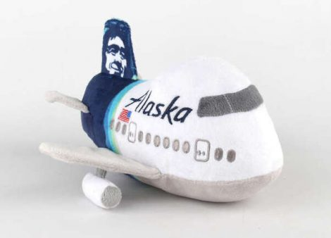 Alaska Plüssrepcsi