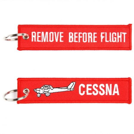 RBF Cessna kulcstartó