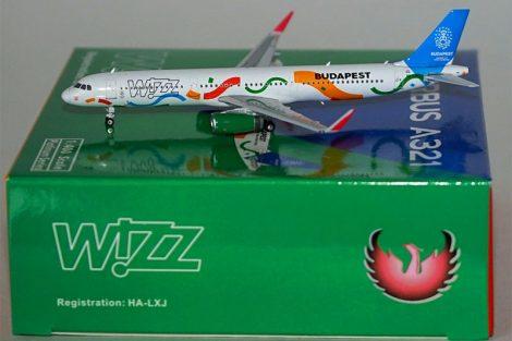"Wizz A321 HA-LXJ ""2024"" 1:400 Phoenix"
