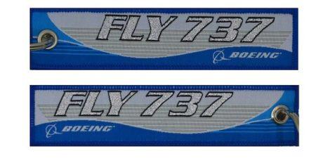 Fly 737 kulcstartó
