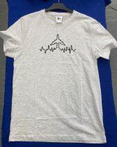 Reptér-kollekció: Hímzett repülős póló