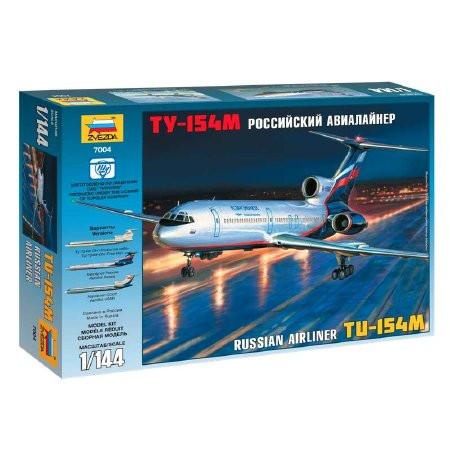 Zvezda - Tupolev Tu-154M Russian Airliner 1:144 (7004)