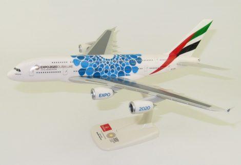 """Airbus A380-800 Emirates """"Expo 2020 Dubai UAE, Blue"""" A6-EOC"""