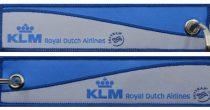 KLM kulcstartó 13x3 cm