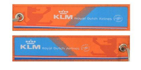 KLM orange pride kulcstartó 13x3cm