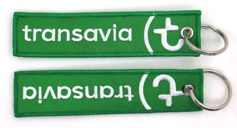Transavia kulcstartó 13x3cm