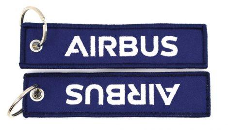 Airbus kulcstartó 13x3cm