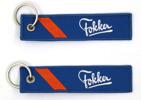 FOKKER kulcstartó 13x3cm
