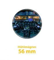 Il-14 pilótafülke hűtőmágnes