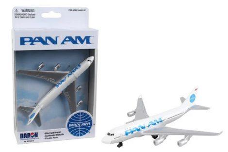Boeing 747 Pan Am fém modell playsethez