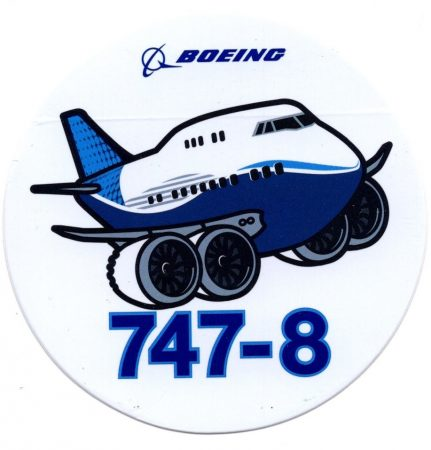 Boeing  747-8 pufirepcsi (pudgy) matrica