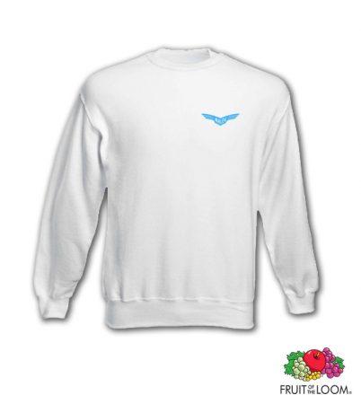 Malév logós (Il-14 korszak) pulcsi, fehér