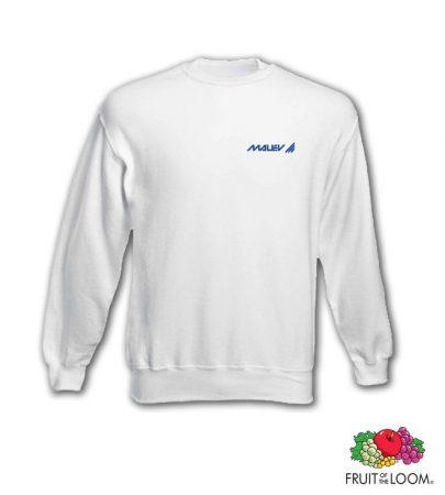 Malév logós (Zsótér-féle) pulcsi, fehér